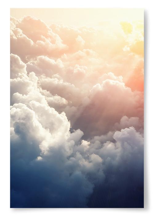 Poster Molnig Himmel