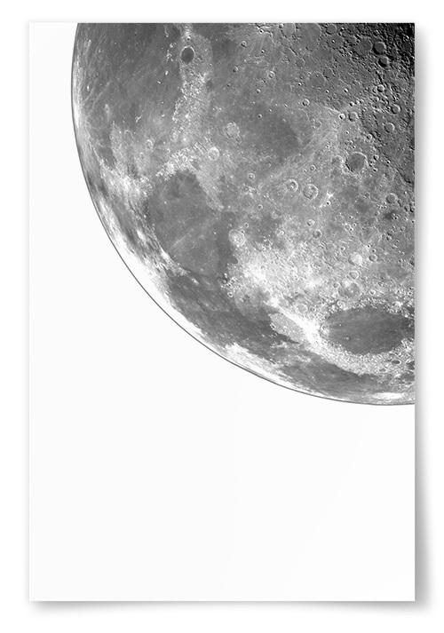 Poster Månbit