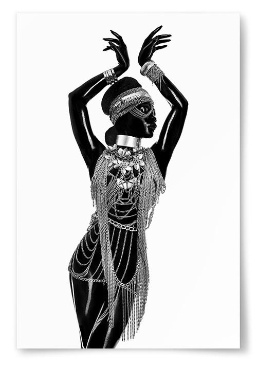 Poster Afrikansk Tribal Style