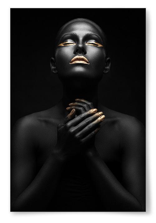 Poster Gold-n' Black